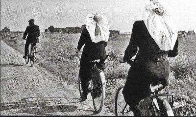 De fiets verdween
