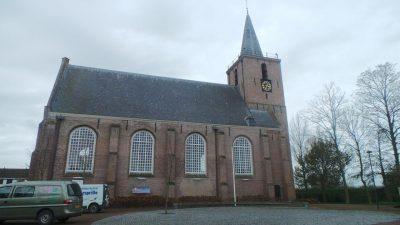 De kerk van Kortgene