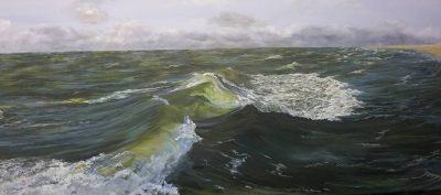 De rollende zee