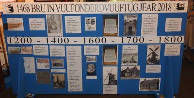 Deel van de panelen 550 jaar Bruinisse - Foto joke Bot