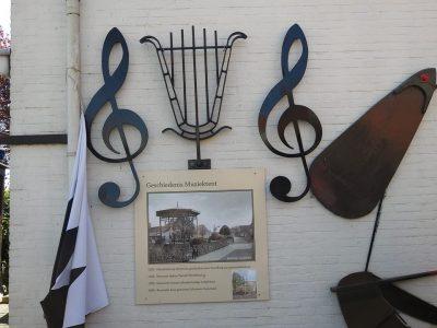 Hdrinnering aan de muziektent