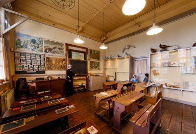 Het authentieke leslokaal