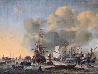 Het kalefateren van schepen - Reinier Nooms