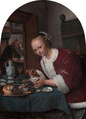 Het oestereetstertje van Jan Steen