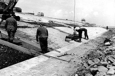 1 april – Opening Grevelingendam.