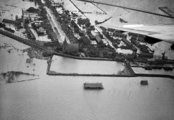Kortgene onder water in 1953