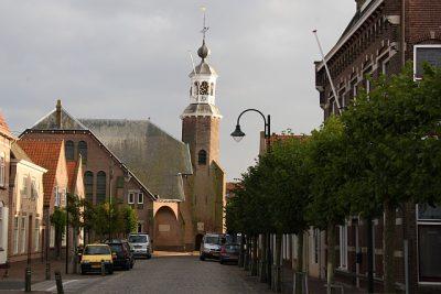 De hervormde kerk in Stavenisse