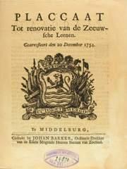 Tractaat uit 1754