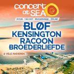 30 juni en 1 juli – Concert at Sea.