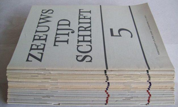 14 oktober – Zeeuws Tijdschrift