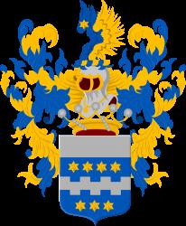 Het wapen van de Van Citters - Bron - Wapenregister van de Nederlandse adel