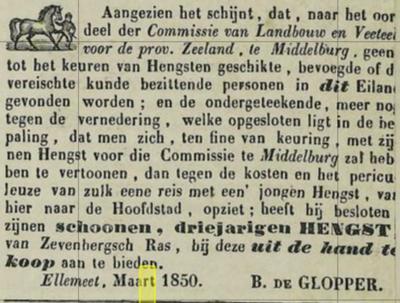 Zierikzeese courant 1850