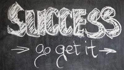 Aan succes moet men werken