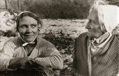 Annie Verhulst (Jo) en Esther de Boer van Rijk (Kniertje)