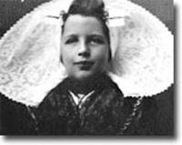 Annie als jong Zeeuws meisje