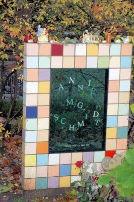 Annies graf op Zorgvliet