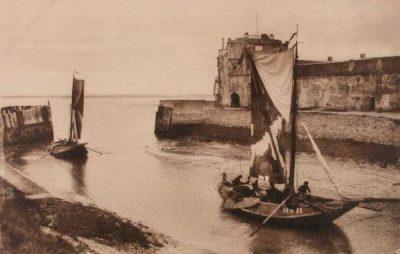 Arnemuider Hoogaars in de haven van Veere