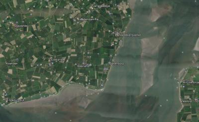 Baarland en omgeving - afb. Google Earth