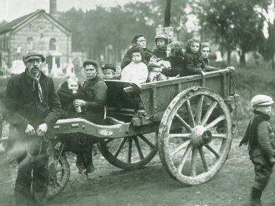 Belgische vluchtelingen in 1914