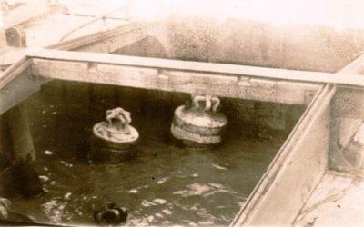 Berging van de klokken in juli 1945