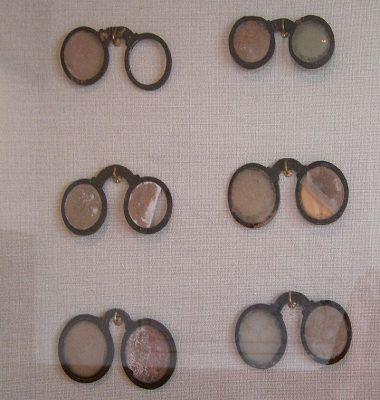 Brillen uit de tijd van Janssen