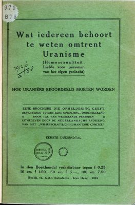 Brochure uit 1912