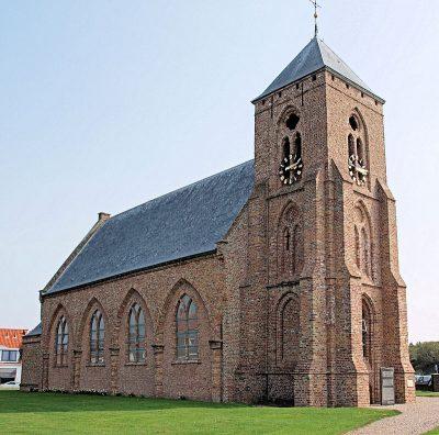 Catharinakerk, gezien vanaf de noordkant