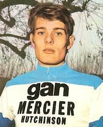 Cees Bal in het shirt van Gan-Mercier