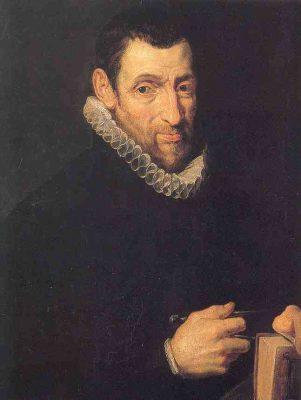Chrisophe Plantijn geschilderd door Rubens