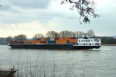 Containerschip Amistade