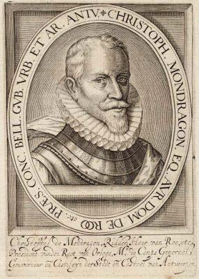 Cristóbal de Mondragón y Otalora naar Hillebrant Jacobsz van Wouw