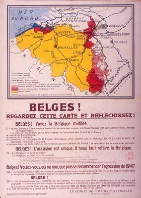 De Belgische territoriumclaim uit 1919