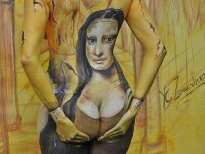 De Mona Lisa Anders - foto Joke Bot