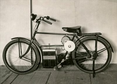De Philips-Simplex E-Bike in 1932