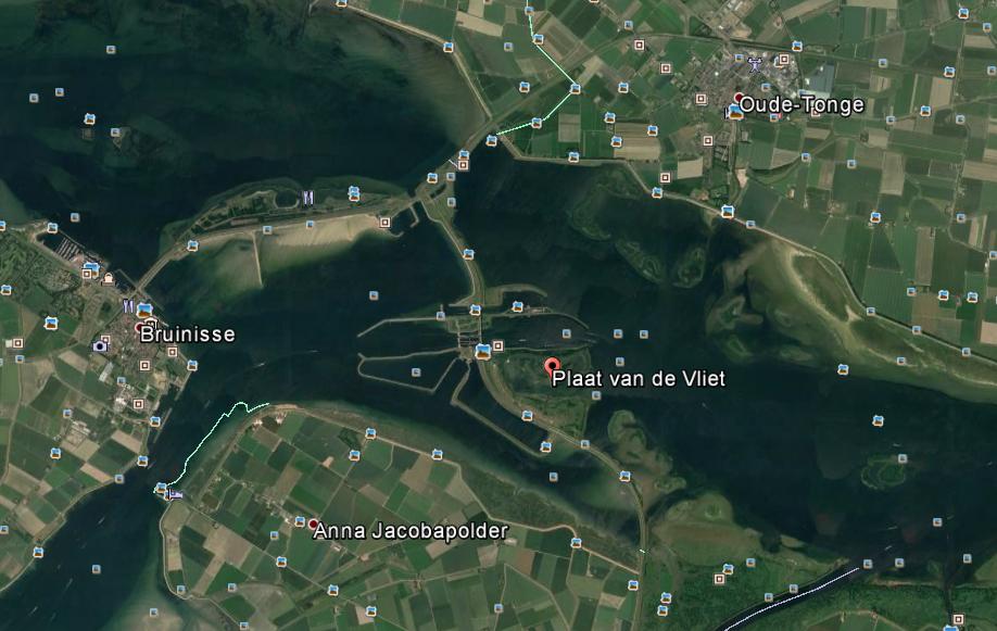 De Plaat van de Vliet - Google Earth