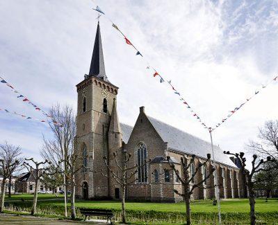 De Sint-Adriaanskerk in Dreischor