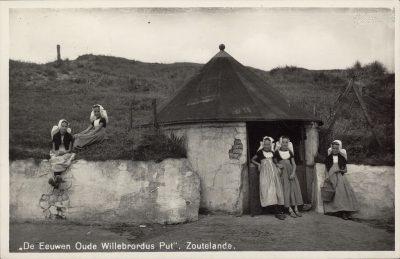 De Willibrordusput, voor de verplaatsing