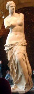 De beroemde Venus van Milo