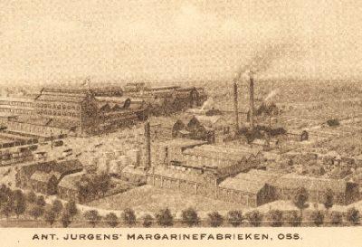 De boterfabriek van Jurgens in Oss