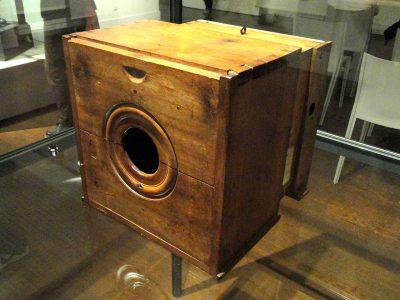 De eerste camera obscura van Nicéphore Niépce