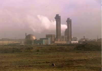 De eerste kerncentrale in Calder Sellafield