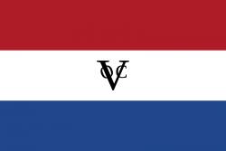 De eigen vlag van de VOC