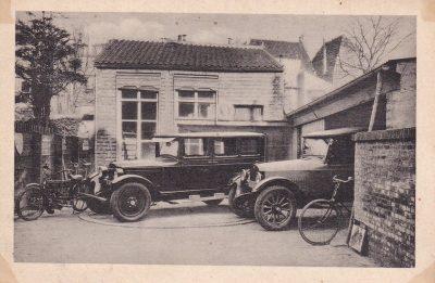De garage van vroeger - foto van Sarina Hendrikse