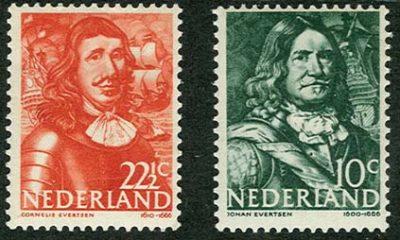 De gebroeders Johan en Cornelis Evertsen