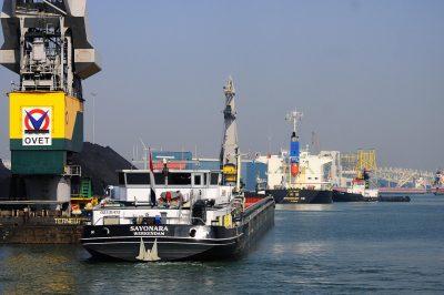De haven van Vlissingen