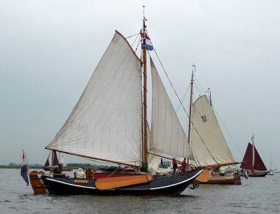 De hoogaars, het visservaartuig ui de 16de eeuwt