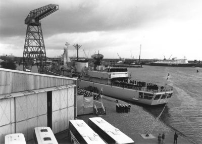 De indienststelling van Hr. Ms. Banckert in 1980