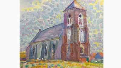 De kerk van Zoutelande - Piet Mondriaan