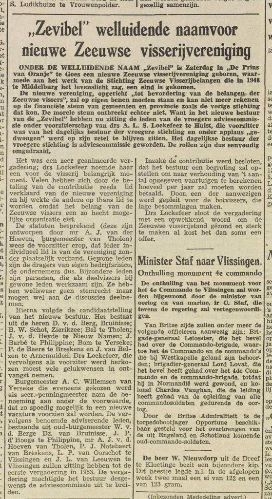 De krant na de oprichting - Krantenbank Zeeland