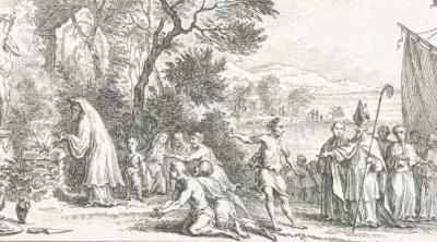 De landing van Willibrordus